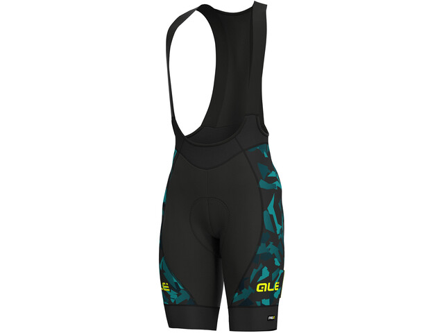 Alé Cycling Graphics PRR Glass Bibshorts Men black petr-turquise